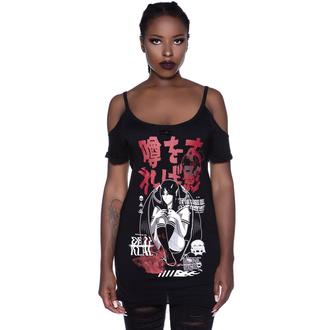 T-shirt pour femmes KILLSTAR - Rumour Distress, KILLSTAR