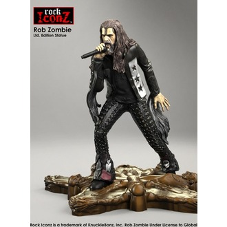 Figurine Rob Zombie - Rock Iconz, KNUCKLEBONZ, Rob Zombie