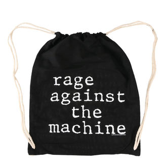 Sac Rage Against the Machine - Stack Logo - Noir Cordon, Rage against the machine