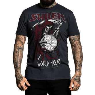 t-shirt hardcore pour hommes - WORLD TOUR - SULLEN, SULLEN