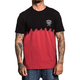 t-shirt hardcore pour hommes - COBRA BLOOD DIP DYE - SULLEN, SULLEN