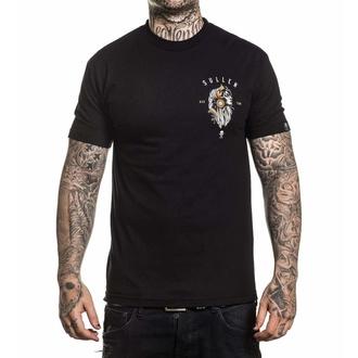t-shirt hardcore pour hommes - PACIENCIA - SULLEN - SCM2337_BK