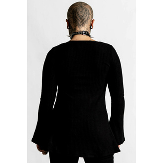 t-shirt pour femmes à manches longues KILLSTAR - Scorpia - Noir, KILLSTAR