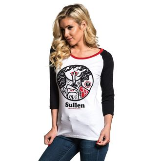 t-shirt hardcore pour femmes - SECRETS RAGLAN - SULLEN, SULLEN