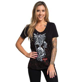 t-shirt hardcore pour femmes - HOUR GLASS - SULLEN, SULLEN