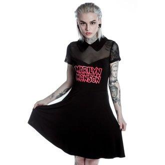 robe femmes KILLSTAR - MARILYN MANSON - Calme- Noir, KILLSTAR, Marilyn Manson