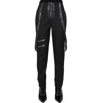 pantalon pour femmes KILLSTAR - Shadow Stripe - Rayure fine, KILLSTAR