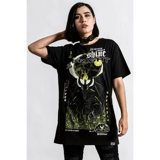 T-shirt unisexe KILLSTAR - Éclat Brillant - Noir, KILLSTAR