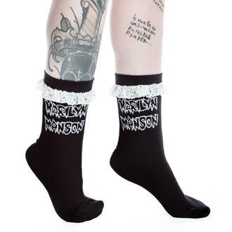 chaussettes KILLSTAR - MARILYN MANSON - Snake Eyes - Noir, KILLSTAR, Marilyn Manson