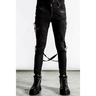 Pantalon pour hommes KILLSTAR - Sonic Doom jeans - Noir, KILLSTAR