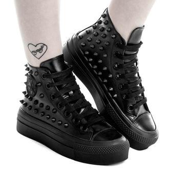 chaussures à semelles compensées unisexe - SOULED OUT HIGH TOPS - KILLSTAR