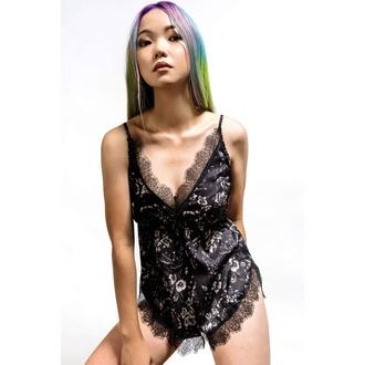 pyjama femme (corps) KILLSTAR - Spellbound Teddy - Noir, KILLSTAR