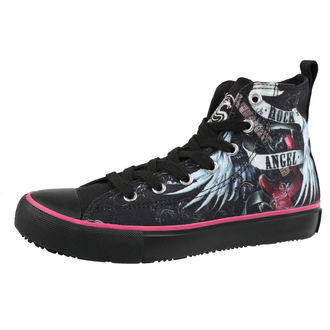 chaussures de tennis montantes pour femmes - ROCK ANGEL - SPIRAL, SPIRAL