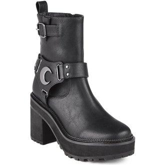 chaussures à semelles compensées pour femmes - STARLIGHT BIKER - KILLSTAR, KILLSTAR