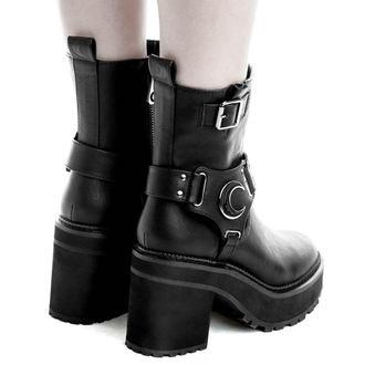 chaussures à semelles compensées pour femmes - STARLIGHT BIKER - KILLSTAR