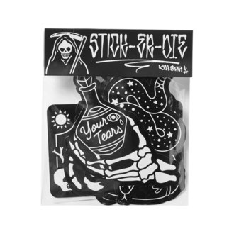 Autocollants KILLSTAR - Stick It Sticker - NOIR, KILLSTAR