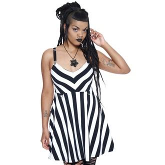 Robe pour femme KILLSTAR - Stripe About Negative - Stripe, KILLSTAR
