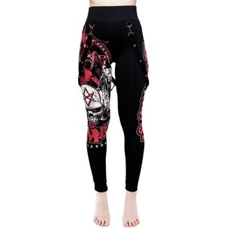 Pantalon pour femmes (leggings) KILLSTAR - Rob Zombie - Superbeast - NOIR, KILLSTAR, Rob Zombie