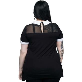 T-shirt pour femmes KILLSTAR - Survival Kit Collar - NOIR, KILLSTAR