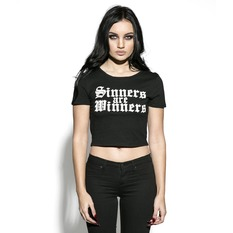 t-shirt pour femmes - Sinners Are Winners - BLACK CRAFT, BLACK CRAFT