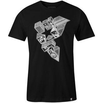 tee-shirt street pour hommes - STEREO STACKS - FAMOUS STARS & STRAPS, FAMOUS STARS & STRAPS