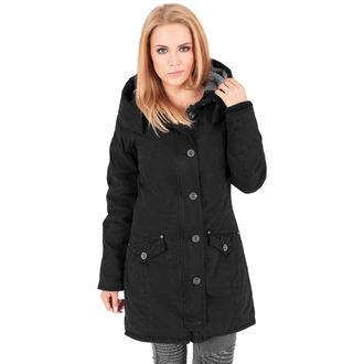veste d`hiver pour femmes - Garment washed Long Parka - URBAN CLASSICS, URBAN CLASSICS