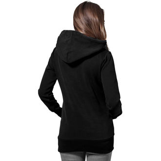 sweat-shirt avec capuche pour femmes - Long Logopatch - URBAN CLASSICS, URBAN CLASSICS