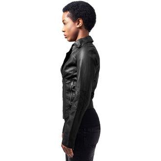 veste printemps / automne pour femmes - Leather Imitation Biker - URBAN CLASSICS, URBAN CLASSICS