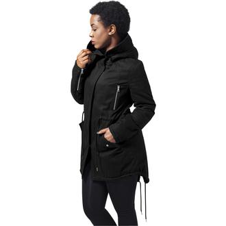 veste d`hiver pour femmes - Sherpa Lined Cotton Parka - URBAN CLASSICS, URBAN CLASSICS