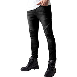 Jeans pour hommes URBAN CLASSICS - Slim Fit Biker Jeans, URBAN CLASSICS