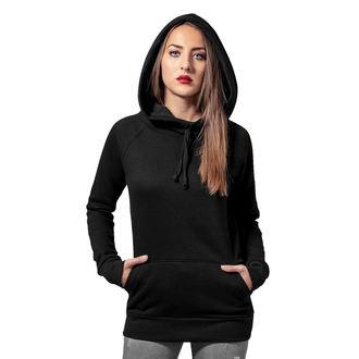 sweat-shirt avec capuche pour femmes - High Neck Raglan - URBAN CLASSICS, URBAN CLASSICS