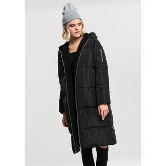aux femmes manteau URBAN CLASSICS - Puffer - noir / noir, URBAN CLASSICS