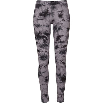 Pantalon pour femmes (leggings) URBAN CLASSICS - Biker Batik - gris / noir, URBAN CLASSICS