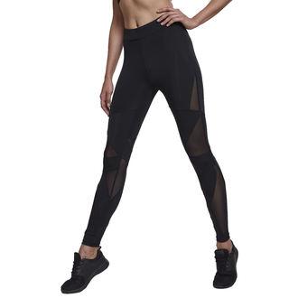 Pantalon pour femmes (leggings) URBAN CLASSICS - Triangle Tech Mesh - blk / blk, URBAN CLASSICS