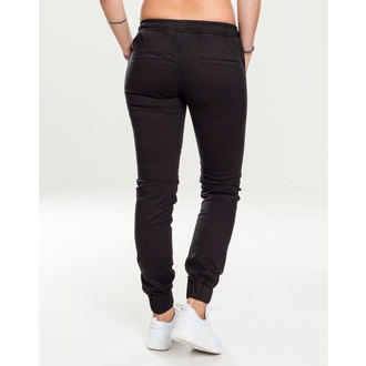 Pantalon pour femmes URBAN CLASSICS - Jogging Biker- noir, URBAN CLASSICS