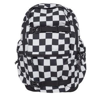 Sac à dos URBAN CLASSICS - Checker black & white - noir blanc, URBAN CLASSICS