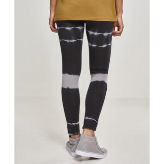 Pantalon pour femme (leggings) URBAN CLASSICS -  Biker Délavé - blk / gris, URBAN CLASSICS