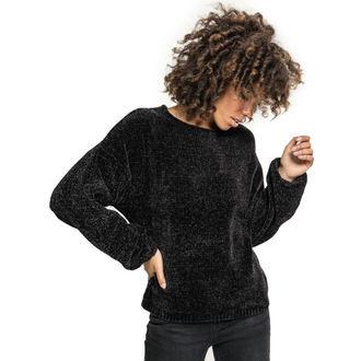 Chandail pour femmes URBAN CLASSICS - Chenille - noir, URBAN CLASSICS