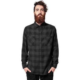 Chemise hommes URBAN CLASSICS - Checked Flanell, URBAN CLASSICS