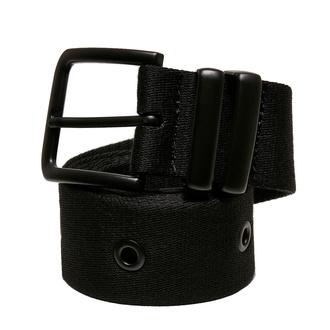 URBAN CLASSICS ceinture - Eyelet - noir, URBAN CLASSICS