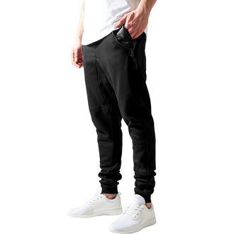 Pantalon (survêtement) pour homme URBAN CLASSICS - Poche en cuir, URBAN CLASSICS
