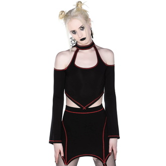 T-shirt pour femmes avec manches longues KILLSTAR - Techno Witch, KILLSTAR