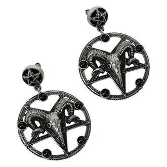 Boucles d'oreilles KILLSTAR - Templar - ARGENT, KILLSTAR