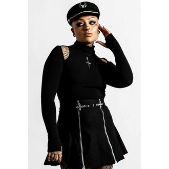 T-shirt à manches longues pour femmes KILLSTAR - Temptress - Noir, KILLSTAR