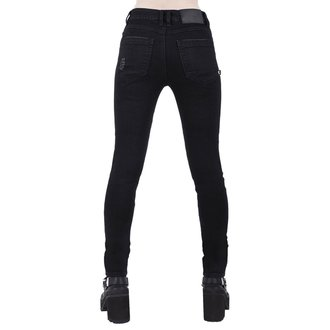 Pantalon femmes KILLSTAR - Trash Talk Jeans - NOIR, KILLSTAR