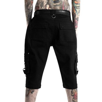 Short KILLSTAR - TWISTED CARGO - NOIR, KILLSTAR