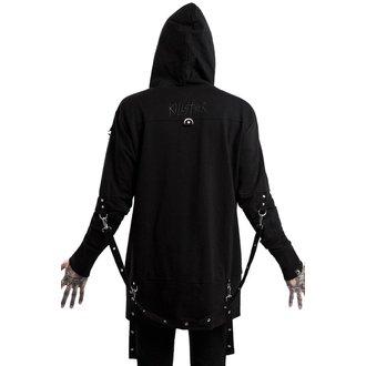 sweat-shirt avec capuche pour hommes - TWISTED - KILLSTAR
