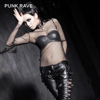 tee-shirt gothic et punk pour femmes - MeshMerizer - PUNK RAVE, PUNK RAVE