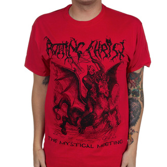 T-shirt Rotting Christ pour hommes - The Mystical Meeting - Vrai rouge - INDIEMERCH, INDIEMERCH, Rotting Christ