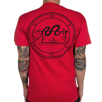 T-shirt Rotting Christ pour hommes - The Mystical Meeting - Vrai rouge - INDIEMERCH, INDIEMERCH, Rotting Christ